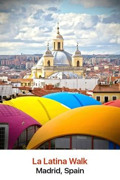 Stunning architecture and wonderful tapas make La Latina neighborhood a must-see destination while you are in Madrid. It occupies the oldest area in the capital city and features a number of beloved historical buildings.