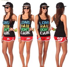 Long Hair Dont Care Tank-tops!!!