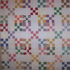4-patch / 9-patch quilts on Pinterest | 46 Pins
