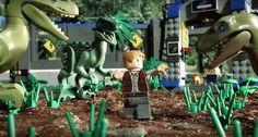 Lego Jurassic Park, Jurassic Park Series, Lego Creations, Lego City, Stop Motion, Legos, Pop Culture, Watch, Madness