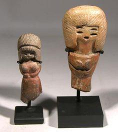 Valdivia Pottery Venus Figures