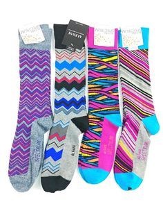 cca8969e3bfb Lot 2 ALFANI Mens Print Colorblock Knit Crew Socks 10-13 #AlfaniSpectrum # Dress