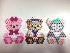 Hama Beads 3d, Hama Beads Design, Hama Beads Patterns, Fuse Beads, Beading Patterns, Perler Bead Disney, Perler Bead Art, Plastic Bead Crafts, Art Perle