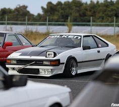 """89 curtidas, 2 comentários - TAKASHI FUKUI (@kaanndesu) no Instagram: """"#セリカxx #celicaxx #セリカ #celica #旧車エキスポ #旧車 #focusgeek"""""""