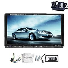 Find best price for Pure Android System Car Stereo with Free Camera Included 2 Din Capactive Touch Screen In-dash Car DVD Player navigation-ready GPS Navi + Free GPS antenna Android Car Radio Backup Camera Car Tracking Device, Gps Tracking System, Android Radio, Android 4, Wireless Backup Camera System, Car Audio Systems, Cameras For Sale, Car Camera, Gps Navigation
