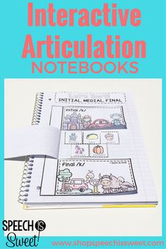 Interactive Articulation Notebooks Bundle! Engaging, meaningful, and fun speech therapy activities!