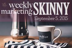 All weekly marketing news in under 2 minutes; catch up now => pic.twitter.com/aTce4BE24z?utm_content=buffer9fe26&utm_medium=social&utm_source=pinterest.com&utm_campaign=buffer http://www.trafficgenerationcafe.com/weekly-marketing-news-september-5-2015/?utm_content=buffer4025c&utm_medium=social&utm_source=pinterest.com&utm_campaign=buffer via ♨ Ana Hoffman