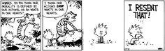 Calvin and Hobbes 13.10.96