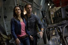 Jordana Brewster and Paul Walker in Fast & Furious 6