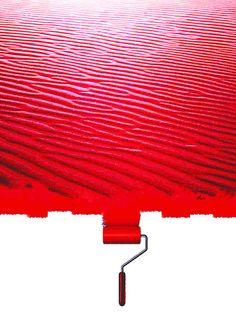 'Der rote Strand' von Dirk h. Wendt bei artflakes.com als Poster oder Kunstdruck $19.41