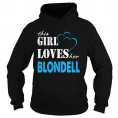 I Love TeeForBlondell  Girl Loves Blondell  Loves Blondell Name Shirt  T-Shirts