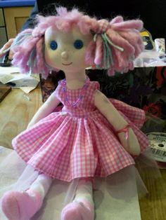 Sweet Little Lotty, Handmade by Anne-Marie. pippin21@hotmail.co.uk