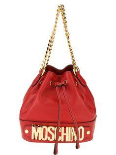 MOSCHINO Bolsa Vermelha
