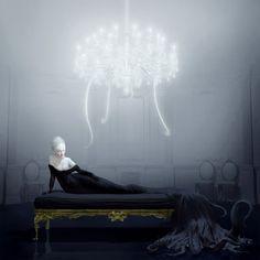 Lunatica Desnuda: Art Enigmático - de Ray Caesar lindo, intrigante, e assuntos provocantes