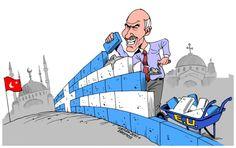 Carlos Latuff cartoons - 2011 - part 7 Turkey AIPAC