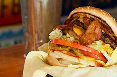 60) Double Bacon Cheeseburger, Hodad's, San Diego, Calif. -- The 101 Best Burgers in America (O MELHOR DE SAN DIEGO)
