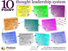 10 point thought leadership system