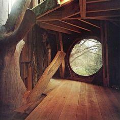 "bohemianhomes: "" Bohemian Homes: Wooden House """