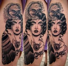 Rose Hardy is a painter and tattoo artist working at Kings Avenue Tattoo in New York City. Bad Tattoos, Pin Up Tattoos, Future Tattoos, Love Tattoos, Tattoo You, Beautiful Tattoos, Awesome Tattoos, Beautiful Body, Tatoos