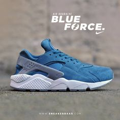 """#nike #air #huarache #blueforce #sneakerbaas #baasbovenbaas  Nike Air Huarache """"Blue Force"""" - Still available online, priced at €119,95  For more info about your order please send an e-mail to webshop #sneakerbaas.com!"""