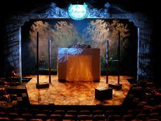 The Fantasticks. Set design by Don David. Photo by Gordon Ballou.