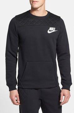 Nike 'FB' Fleece Crewneck Sweatshirt available at #Nordstrom