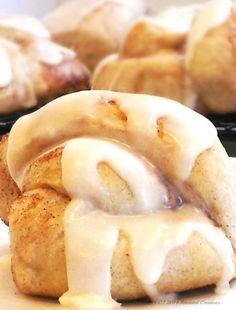 Frosted Cinnamon Knots - Yessssss...