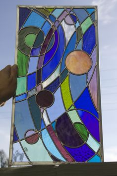 Completed Window Water Lighting, Stained Glass, Window, Painting, Inspiration, Art, Biblical Inspiration, Art Background, Windows