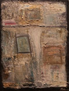 """Sullivan Street""    Acrylic/Heavy Texture on Gallery Wrapped Canvas"