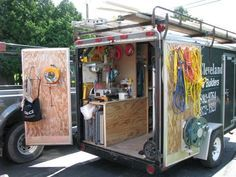 So you don't have a garage, so what. Job Site Trailers, Show Off Your Set Ups! - Page 2 - Tools & Equipment ...