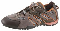 Geox »Snake« Slipper, mit praktischem Schnellverschluss für 99,99€. Sportlicher Slipper im Materialmix, Aus Leder mit Mesheinsätzen bei OTTO