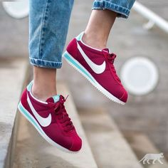 Tendance Basket 2017 Sneakers femme Nike Cortez Noble Red (asphaltgold_sneakerstore)