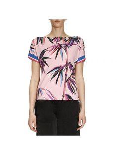 EMILIO PUCCI T-Shirt T-Shirt Women Emilio Pucci. #emiliopucci #cloth #https: