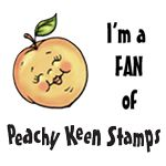 I Love my Peachy Keen Stamps