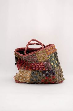 Sophie Digard   Raffia Bag   Peach
