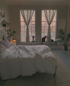Room Ideas Bedroom, Home Bedroom, Bedroom Decor, Bedrooms, Bedroom Inspo, Dream Rooms, Dream Bedroom, Aesthetic Room Decor, Cozy Room