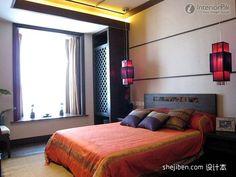 Southeast Asian bedroom decoration effect chart appreciation