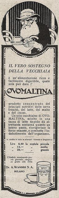 Ovomaltina by VINTAGE AD, via Flickr