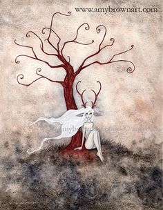 PRINTS-OPEN EDITION - Dark Woods Series - Amy Brown Fairy Art - The Official Gallery
