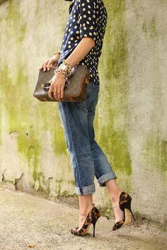 Poás + jeans por Camila Coutinho em dezembro 19, 2013