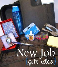 congrats on the new job gift basket | Fun Gift Ideas | Pinterest ...