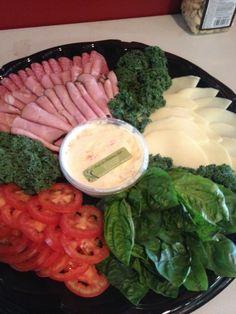 Specialty Catering: Build your own sandwich platter - Italian. www.myfreshandfabulous.com