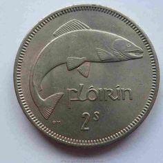 Ireland Two Shilling Florin Coin  ~  It's worth money!