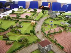 Bocage table from the FOW Scottish Nationals May 2013.