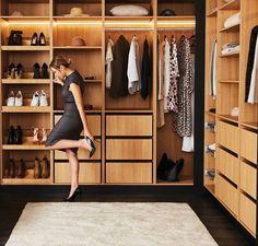 Kinsman Walk In Robe, Walk In Wardrobe, Wardrobe Design, Wardrobes, Shelving, Master Bedroom, Storage, Kitchens, House