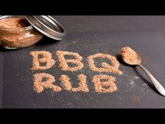 Pigskin Barbeque Presents. Texas Style Rub which can be used on beef, pork, ribs, and chicken. Get a taste of the south with this rub. I used Tango Spice. Bbq Rub Recipe, Bbq Dry Rub, Dry Rub Recipes, Meat Rubs, Texas Bbq, Spices, German, Mexican, Youtube