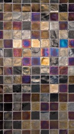Love all the colors in this tile