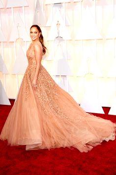 Jennifer Lopez wear Elie Saab at Oscar 2015