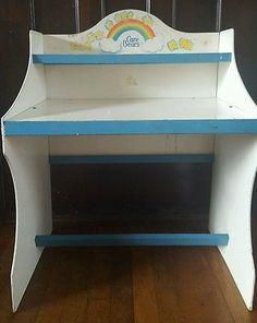 Vintage Care Bear Desk Toy Box Ebay Nursery Ideas
