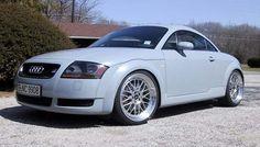 My 2001 Audi TT Coupe 225 hp  (Aviator Grey)